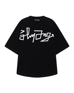 Palm Angels Desert Over Logo Black