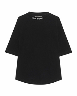 Palm Angels Classic Logo Over Black