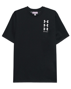 Palm Angels Under Armour Edition Basic Shirt Black