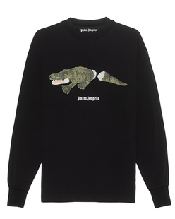 Palm Angels Croco Black