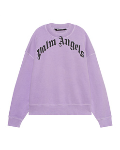 Palm Angels Curved Logo Lilac