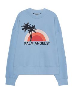 Palm Angels Sweater Sunset Lightblue