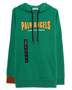 Palm Angels Vintage Logo Green