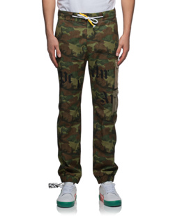 Palm Angels Camo Multi Oliv