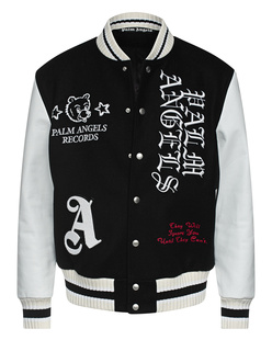 Palm Angels Varsity Burning Head Black