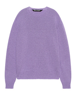 Palm Angels Curved Rec Logo Lilac
