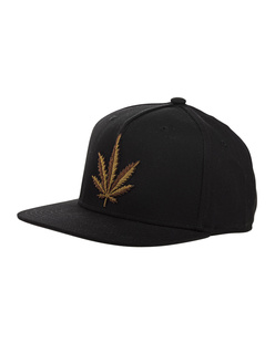 Palm Angels Leaf Black