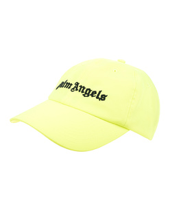 Palm Angels Logo Neon Yellow