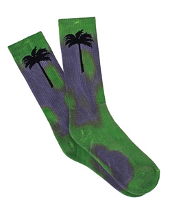 Palm Angels Palm Socks Green