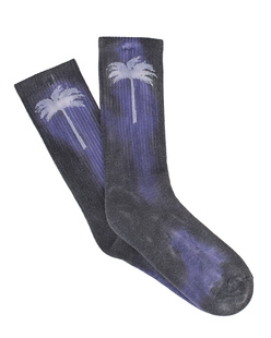 Palm Angels Palm Socks Purple