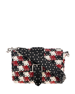 RED VALENTINO Mini Flower Studs Multi