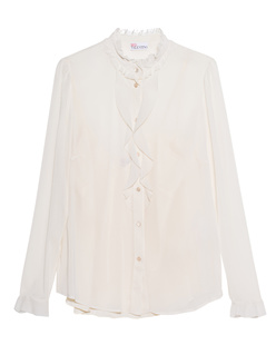 RED VALENTINO Avorio Long Sleeves Off-White