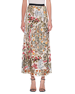 RED VALENTINO All Over Flower Embroidery Multicolor