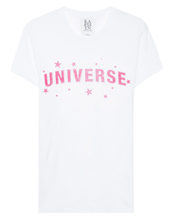ZOE KARSSEN Boyfriend Fit Universe White
