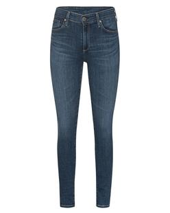 AG Jeans The Farrah Skinny Ankle Dark Blue