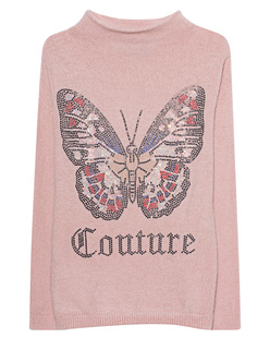 CAMOUFLAGE COUTURE STORK Butterfly Front Rose