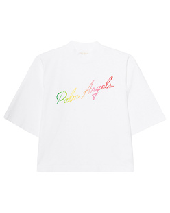 Palm Angels Miami Logo White
