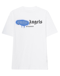 Palm Angels Mykonos Sprayed White