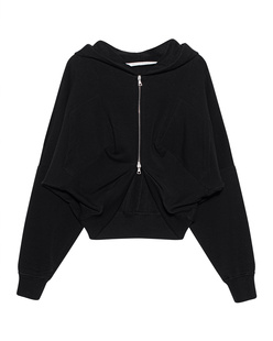 Palm Angels Zipped Logo Black
