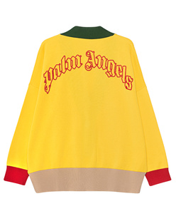 Palm Angels Logo Yellow