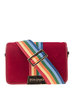 Palm Angels Velvet Rainbow Red