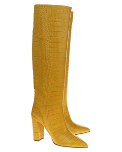 PARIS TEXAS Croco Yellow