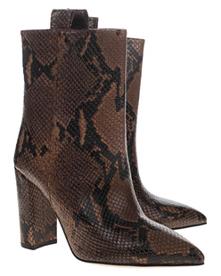 PARIS TEXAS Snakeprint Camel Brown