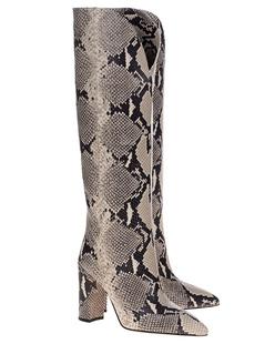 PARIS TEXAS Python Boots Natural Beige