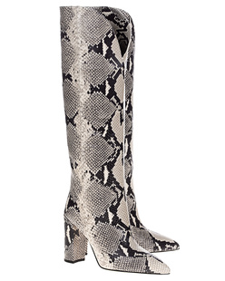 PARIS TEXAS Python Boots Natural Beige