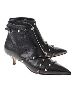 RED VALENTINO Ankle Studs Black