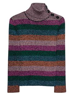 RED VALENTINO Stripe Lurex Multicolor