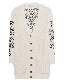 RED VALENTINO Knit Classy Off White