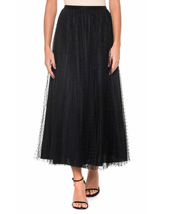RED VALENTINO Tulle Dot Black