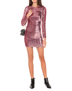 RED VALENTINO All Over Sequins Pink