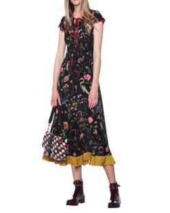 RED VALENTINO Abito Multicolor