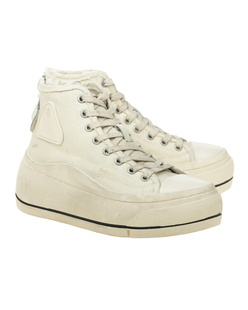 R13 High Top Ecru