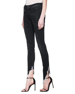 R13 Kate Skinny Black