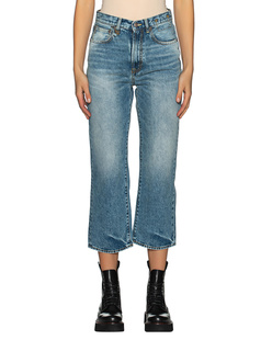 R13 Royer Cropped Blue