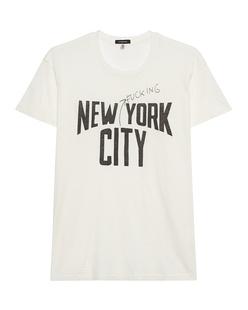 R13 NYFC Boy T Ecru