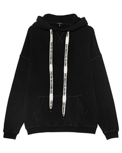 R13 Oversize Hood Black