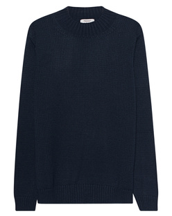 CROSSLEY Knit Turtleneck Navy
