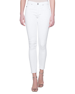 AG Jeans The Legging Ankle White