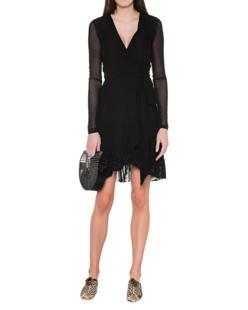 Ganni Addison Dress Black
