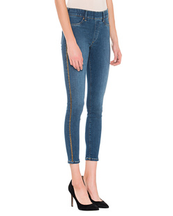 TRUE RELIGION Jegging Glitter Blue