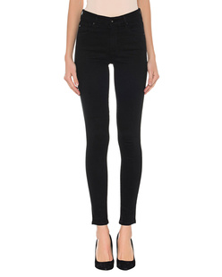 AG Jeans The Farrah High Rise Skinny Black