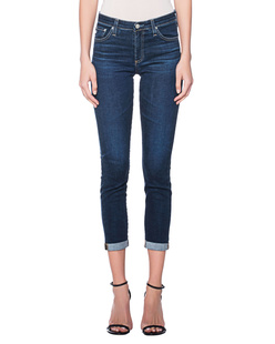 AG Jeans Prima Roll-Up Navy