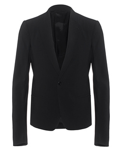 RICK OWENS Short Soft Blazer Black
