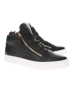 GIUSEPPE ZANOTTI May London Mid Snake Black