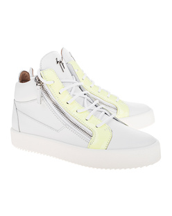 GIUSEPPE ZANOTTI May London Logoball Yellow White