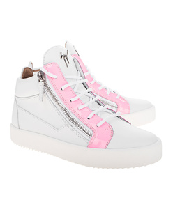 GIUSEPPE ZANOTTI May London Logoball Pink White